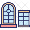 Casement House Window Window Icon