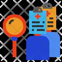 Cases Patient Data Icon