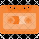 Casette Audio Retro Icon