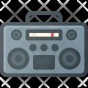 Casette Player Retro Icon