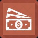 Cash Note Dollar Icon