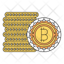 Cash Bitcoin Cryptocurrency Icon