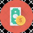 Cash Money Banknote Icon