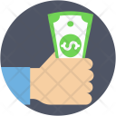 Cash Currency Notes Icon