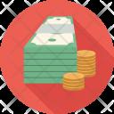 Cash Coins Money Icon