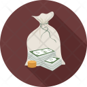 Cash Coins Dollars Icon