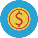 Cash Currency Coin Icon