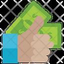 Cash Liquid Money Dollar Icon