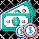 Cash Money Liquid Asset Icon