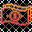 Cash Banknote Money Icon
