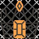 Cash Crown Gem Icon