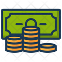Cash Coins Currency Icon