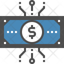 Cash Digital Finance Icon
