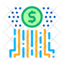 Cash Flow Digital Icon