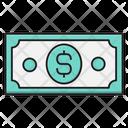 Cash Dollar Currency Icon