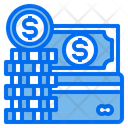 Money Coin Credit Card Icon