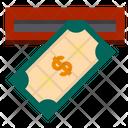 Drop Money Mail Icon