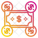 Coin Money Business Icon