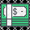 Bundle Money Paper Icon
