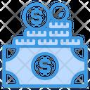 Money Coins Cash Icon