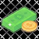 Money Cash Banknotes Icon