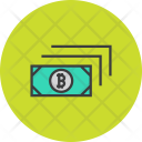 Cash Currency Bitcoin Icon