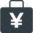 Cash Bag Yen Icon