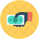 Cash Banknote Payment Icon