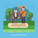 Cash Delivery Cod Icon