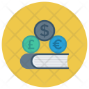 Cash Dollar Book Icon