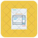 Cash Invoice Currency Icon