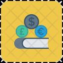 Cash Dollar Book Icon