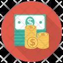 Cash Losechange Dollar Icon