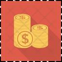 Cash Dollarcoins Dollar Icon
