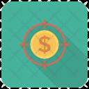 Cash Targetmoney Target Icon