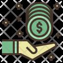 Cash Back Receive Icon