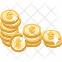 Mcashback Cash Back Dollar Coin Icon