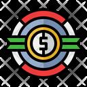 Cash Back Money Back Dollar Icon