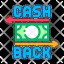 Cash Back Color Icon