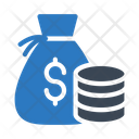 Dollar Bag Saving Icon