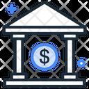 Cash Bank Bank Financial Building Icon