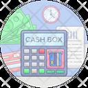 Cash Box Cash Till Cashier Icon