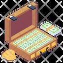 Cash Briefcase Icon