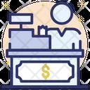 Cash Counter Cashier Cash Desk Icon