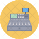 Cash Counter Pay Machine Shopping Icon