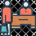 Cash Counter Cashier Customer Icon