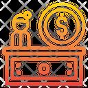 Cash Counter Checkout Cash Register Icon