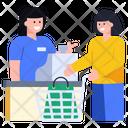 Shopping Counter Cash Counter Store Counter Icon