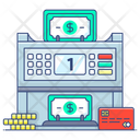 Cash Counting Machine Cash Counter Currency Counter Icon