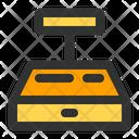 Cashier Teller Cash Drawer Icon